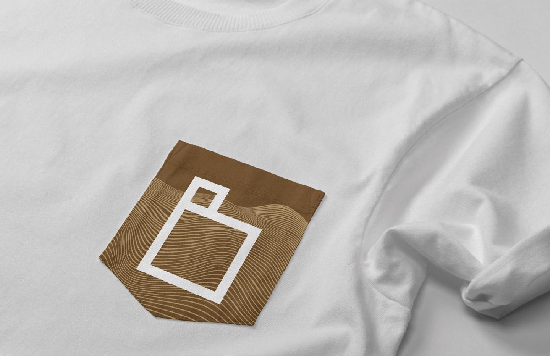 Camiseta bolsillo corporativa Excavaciones Blanco